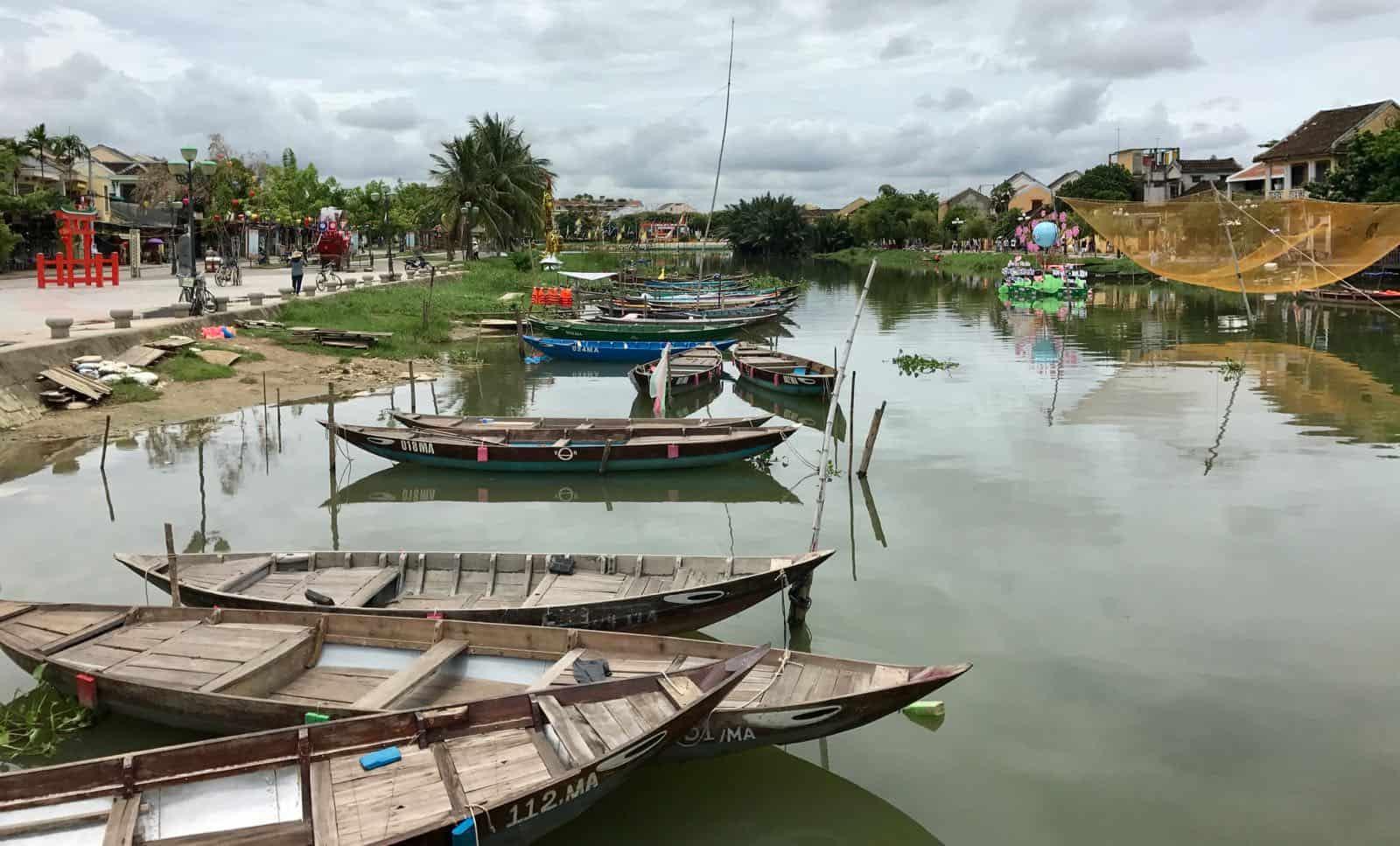 Hoi An river betternotstop vietnam