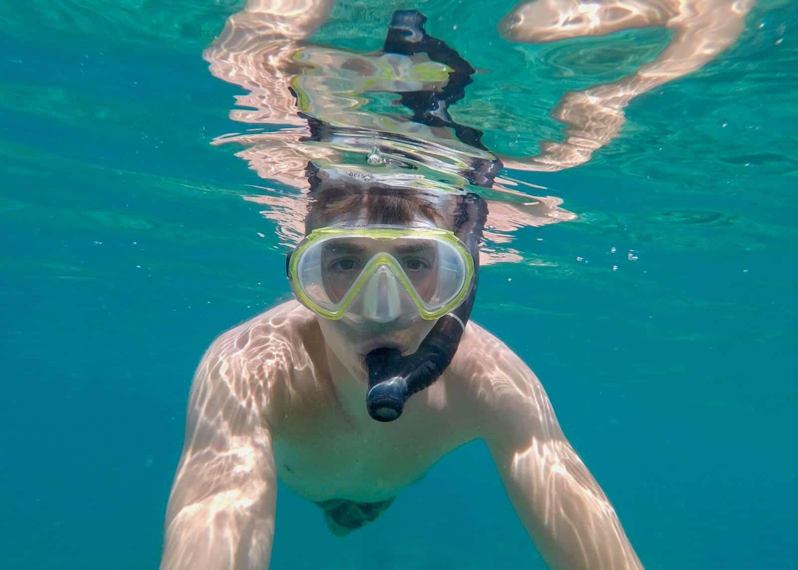 Phil snorkelling Nha Trang Vietnam betternotstop
