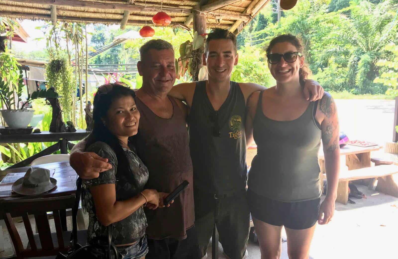 Hannah Phil Aussie ex-Pat Max's Koh Chang Thailand