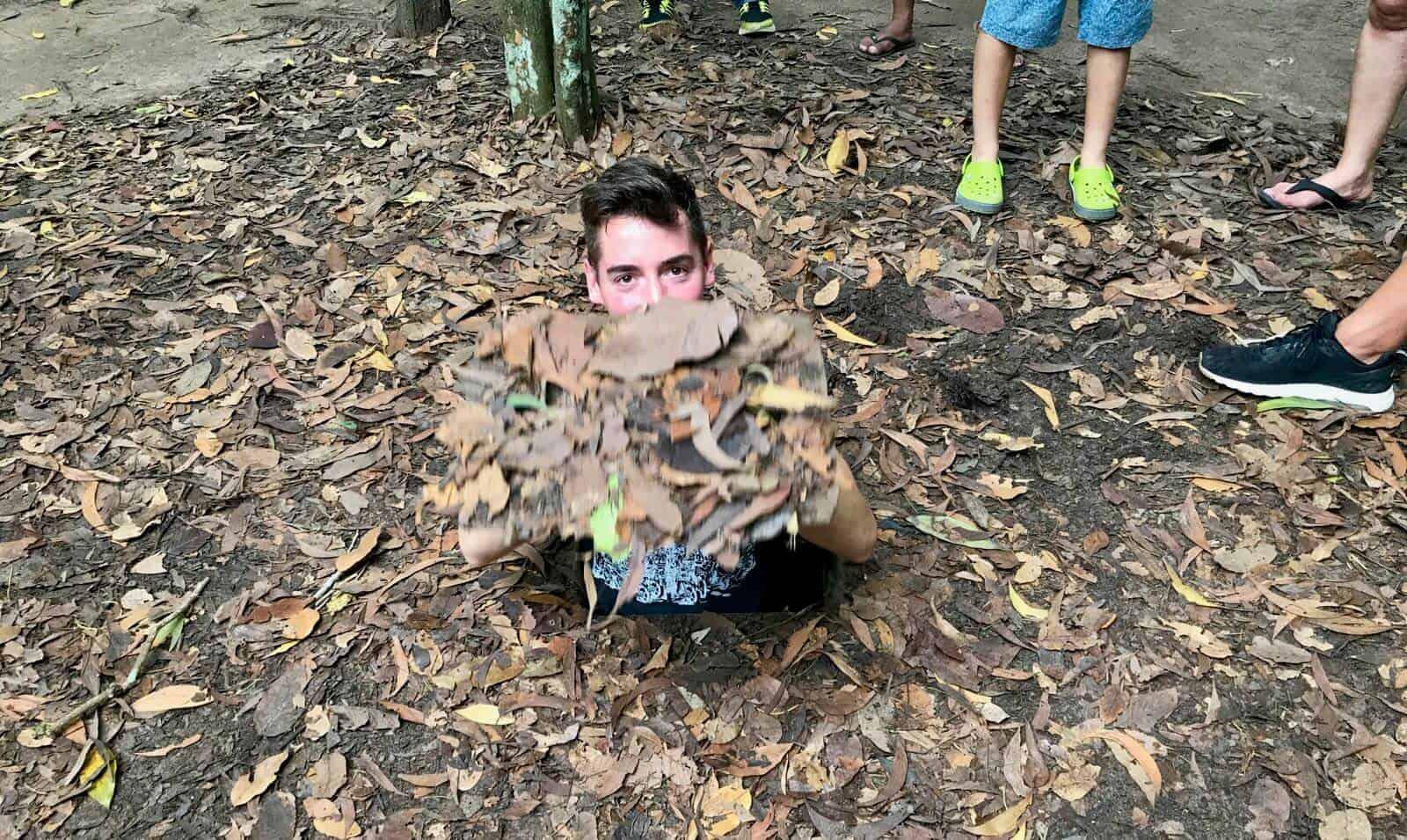 Phil Cu Chi Vietnam jungle camouflage betternotstop