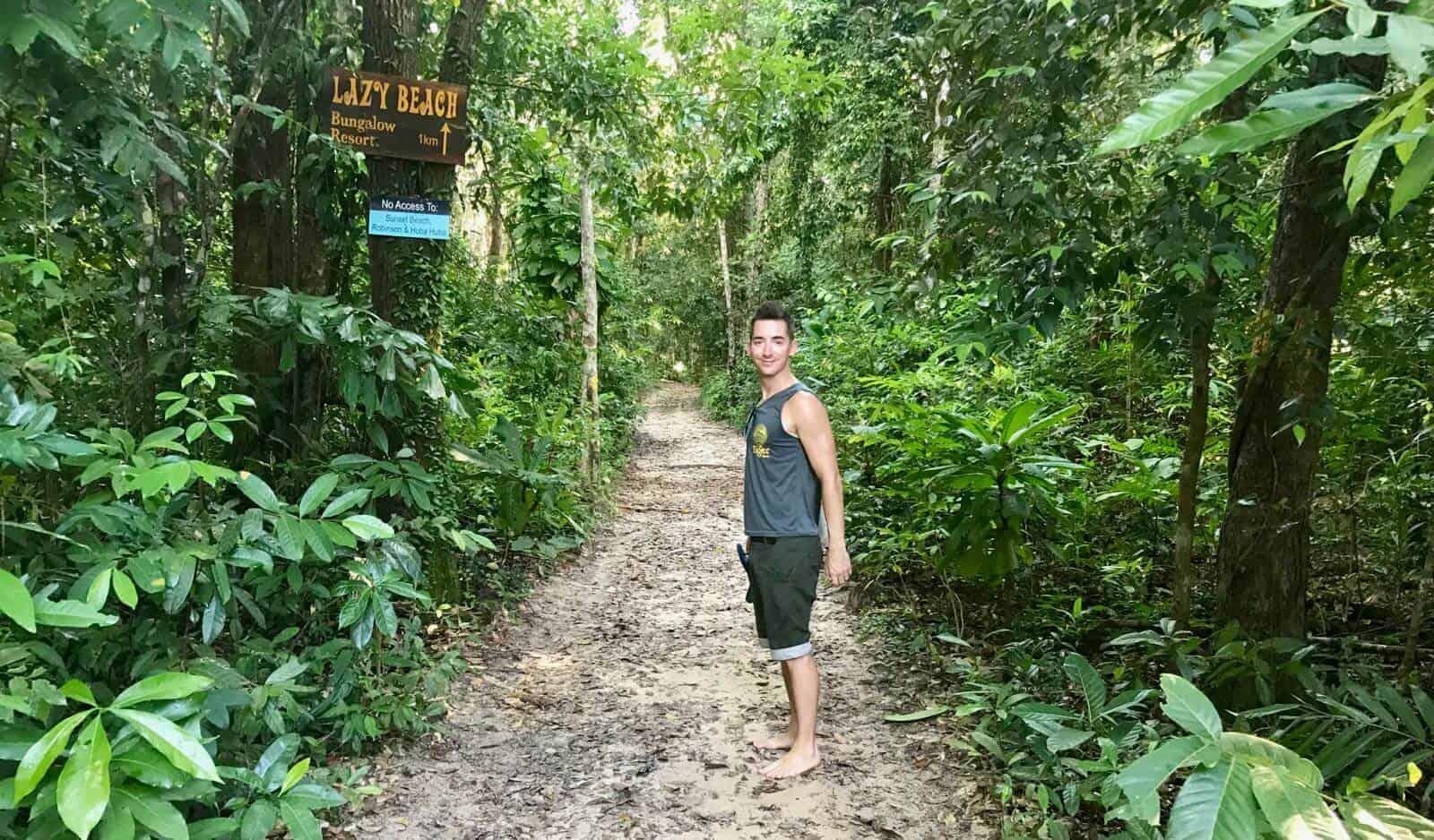 Lazy Beach Koh Rong Sanloem betternotstop Phil adventure