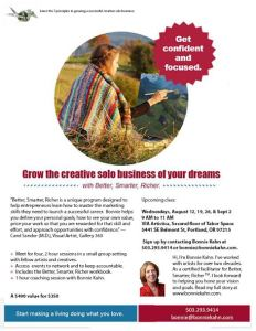 First day of BSR Business Study Group with Bonnie Kahn @ Tabor Space | Portland | Oregon | United States