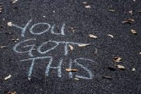 You Got This written in chaulk
