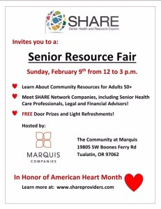 White Flyer Senior Resource Fair