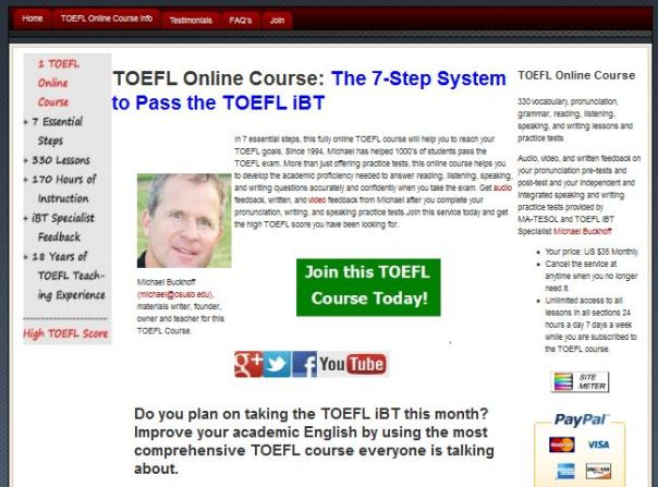S T E A L T H , Our 7-Step System TOEFL Course - Better TOEFL Scores