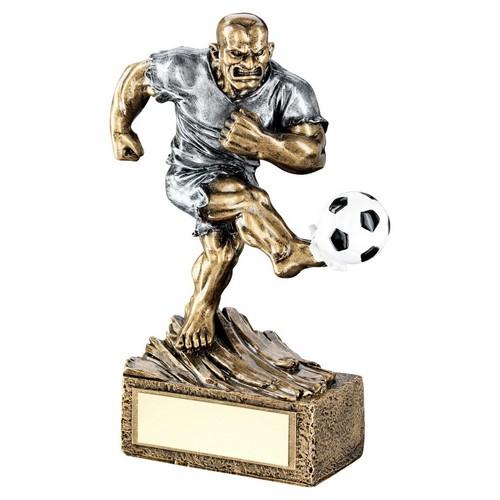 Humorous Hulk Football Trophy