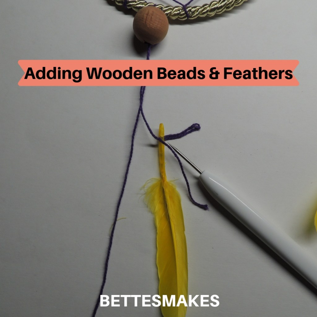 Adding Beads and Feathers