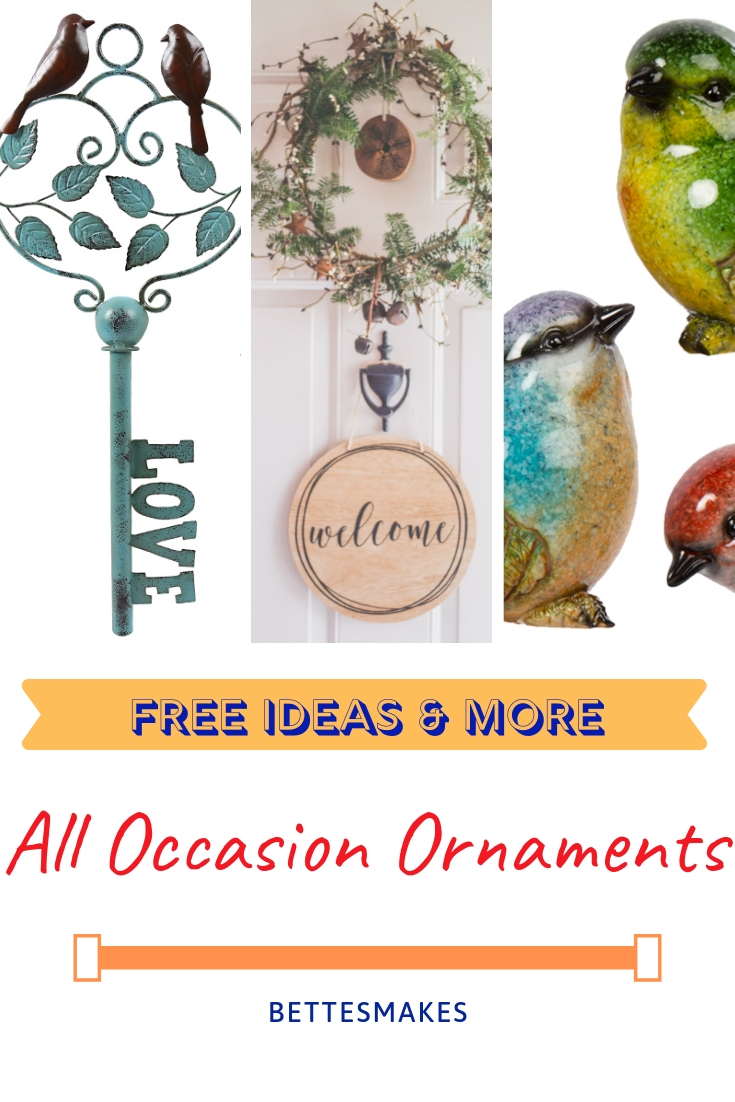 All Occasion Ornaments from Bettesmakes.com