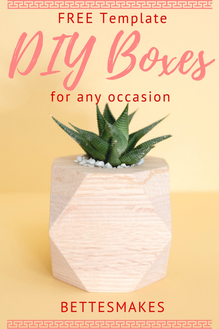 DIY Boxes for Any Occasion