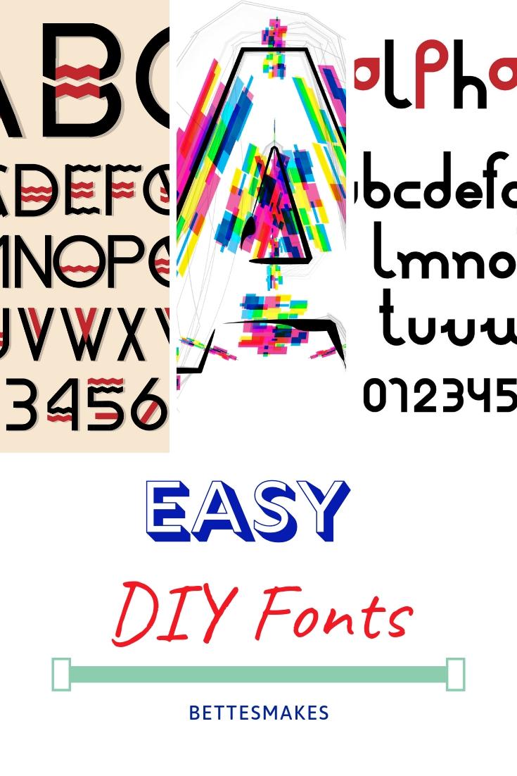 DIY Fonts
