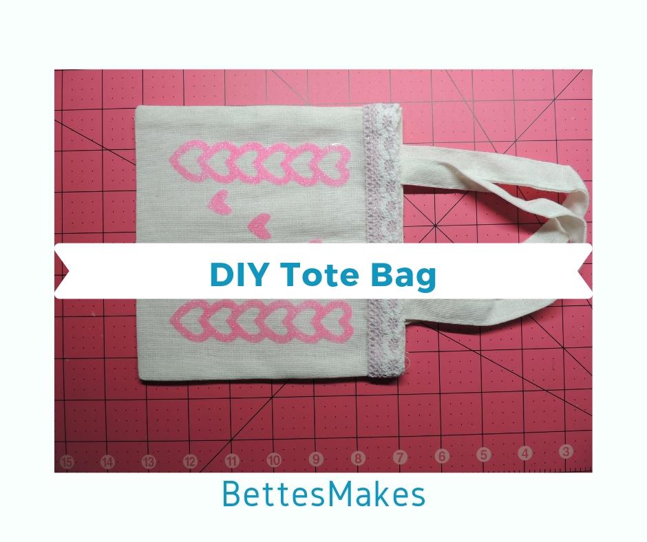 Finished DIY Tote Bag