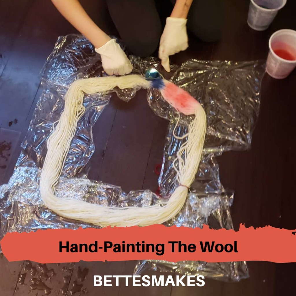 Hand-Painting The Wool