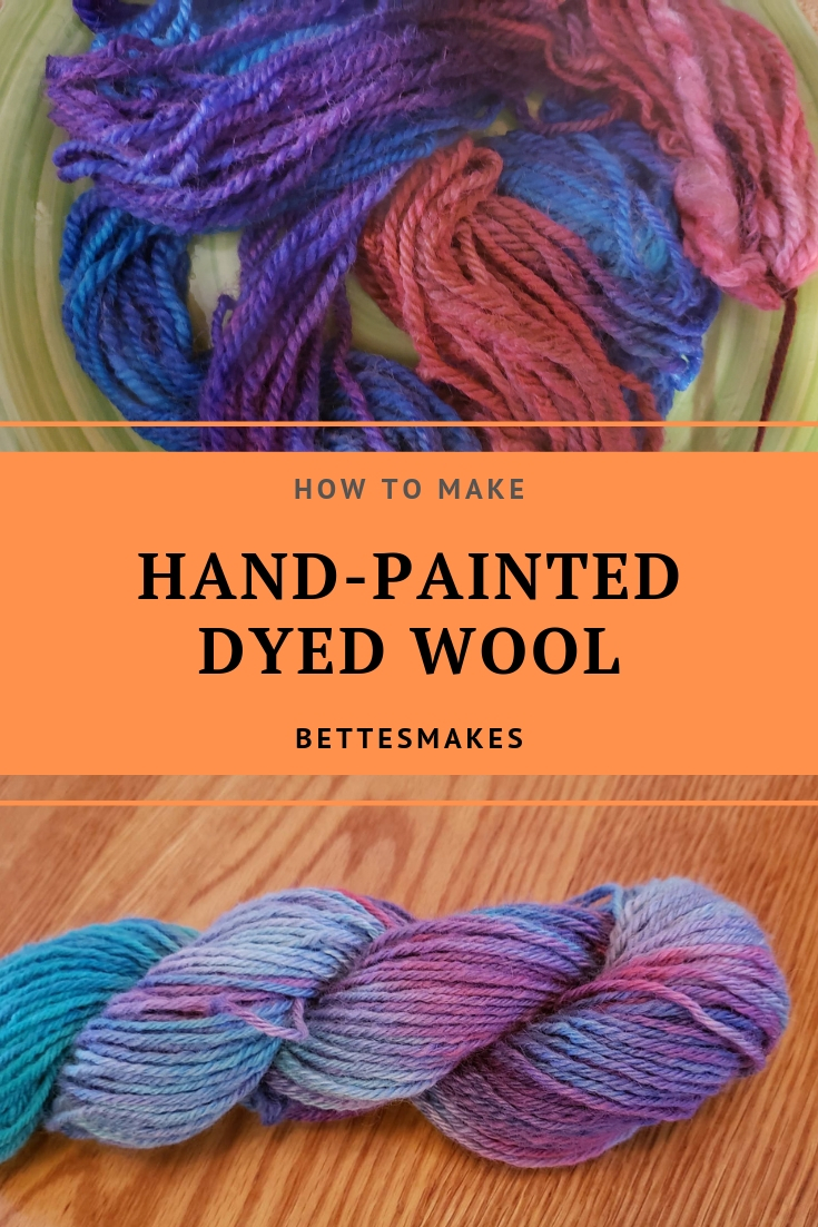 A Day Of Dyeing Wool