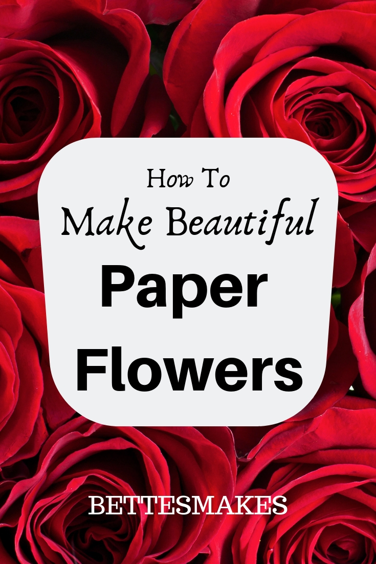 Perfecting Paper Flowers