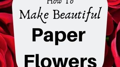 Paper Flowers bettesmakes.com