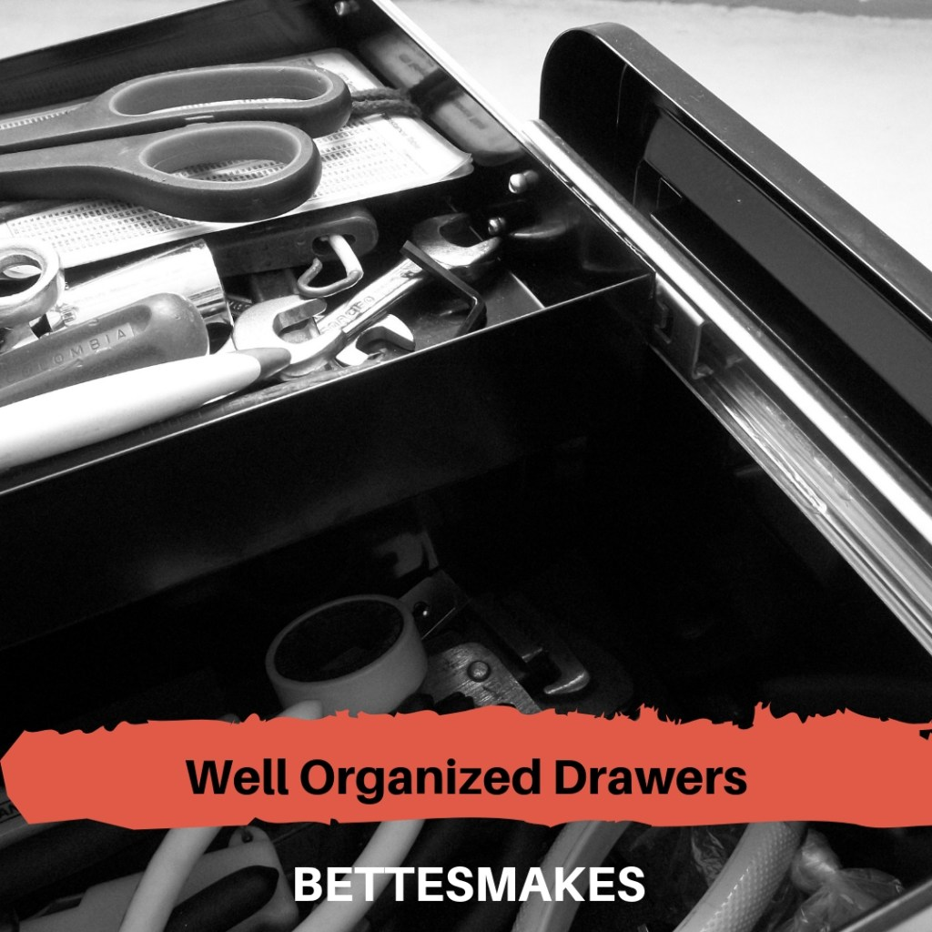 Well Organized Drawers