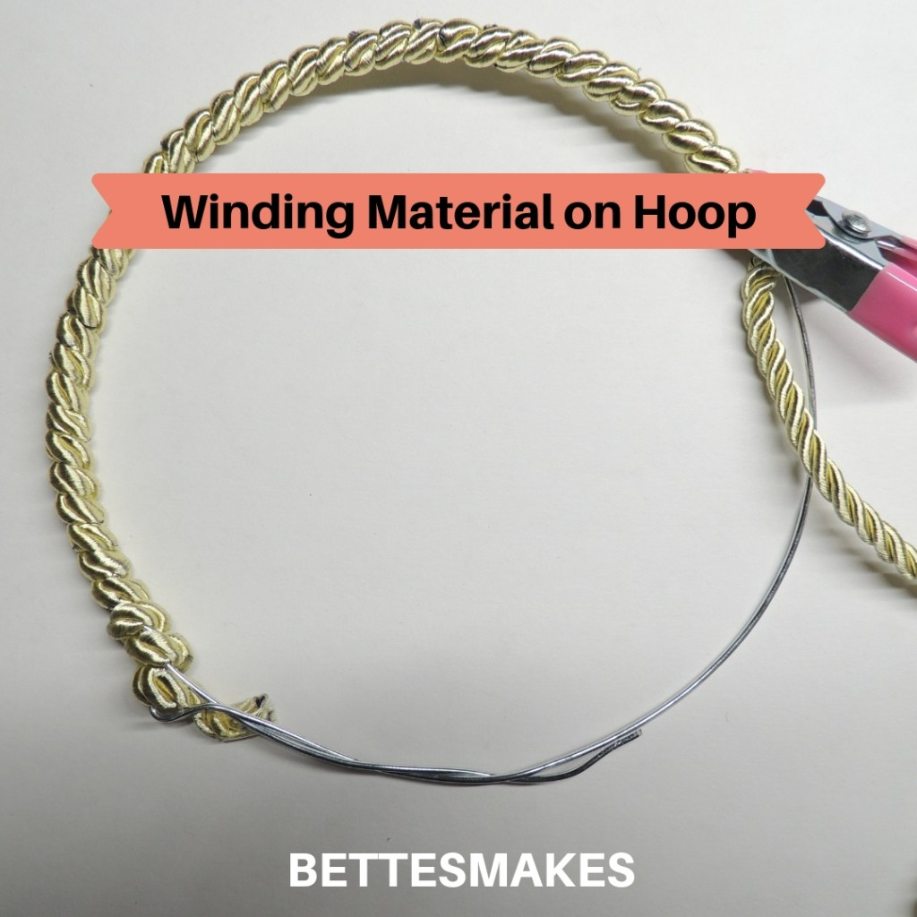 Winding Material on Hoop