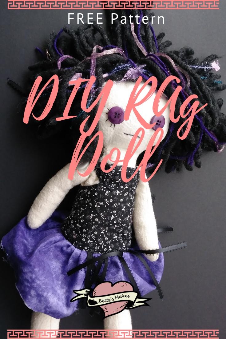 Easy to Make DIY Rag Doll