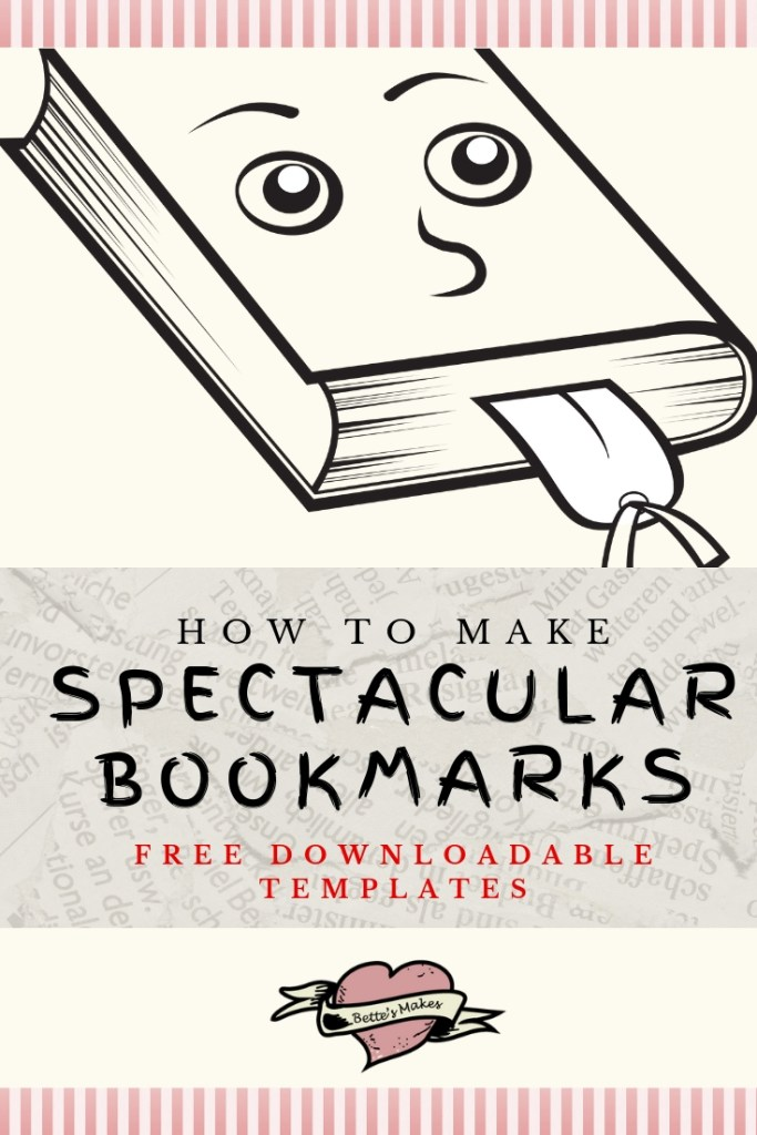 How to make Spectacular Books Marks from BettesMakes.com