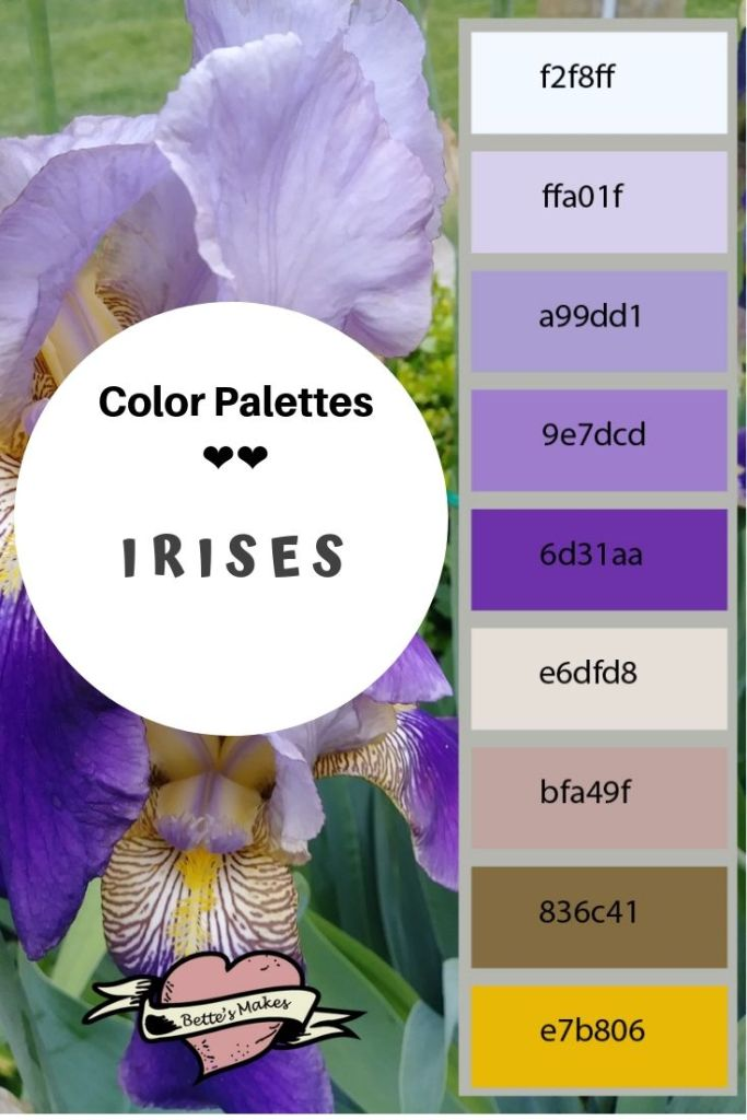Color Palettes for all your artwork depend on the mixtures and blends that please the eye. These color palettes are taken from nature through BettesMakes photography. These perfect natural color palettes will give your projects eye pleasing insights! Perfect for home decor, art work, and interior paints. #paperflower #homedecor #colorpalette