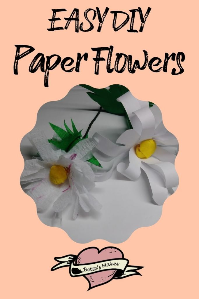 Easy DIY Paper Flowers - BettesMakes.com
