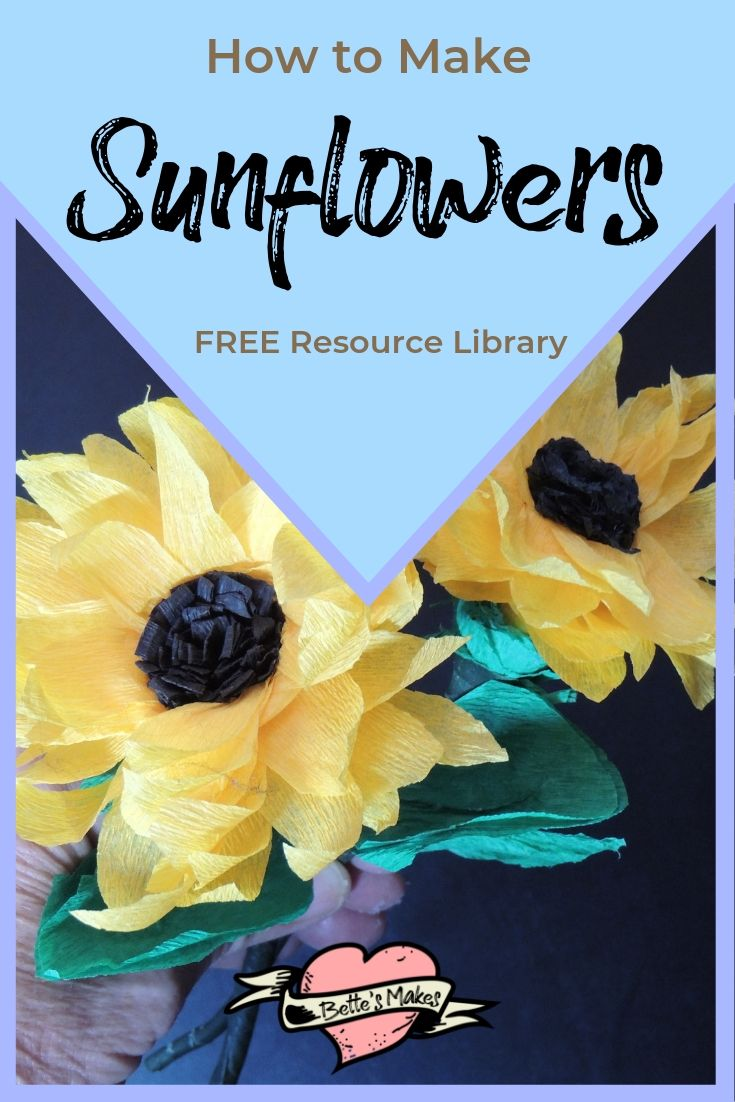 Sunflowers OH MY - BettesMakes.com