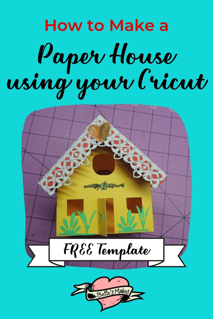 Making paper houses wth your Cricut is fun and easy. These houses are perfect for DIY Home Decor. Just magine displaying these cute makes on a shelf!
