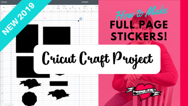 Cricut Craft - Stickers Full Page - BettesMakes.com