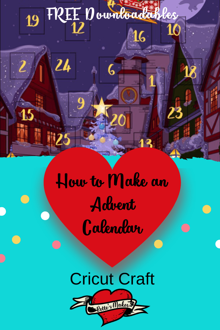 WOW! How to Make An Advent Calendar using your Cricut Maker  Perf Tool. You will have lots of fun personalizing these calendars! Perfect papercraft fun! #Cricut #cricutproject #cricutperf #papercraft