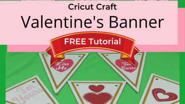 Create your own Valentine's Banner with these FREE templates and cut files. Imagine decorating your home with these amazing sayings and more...#cricut #cricutcraft #valentinesday #papercraft