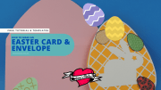 How to Make An Easter Card and Envelope