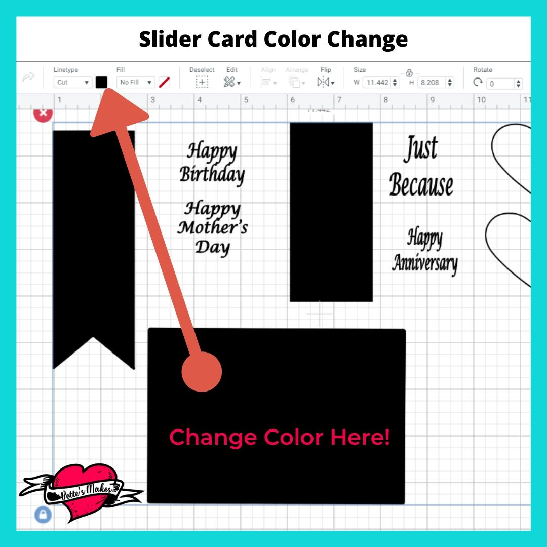 Slider Card Color Change