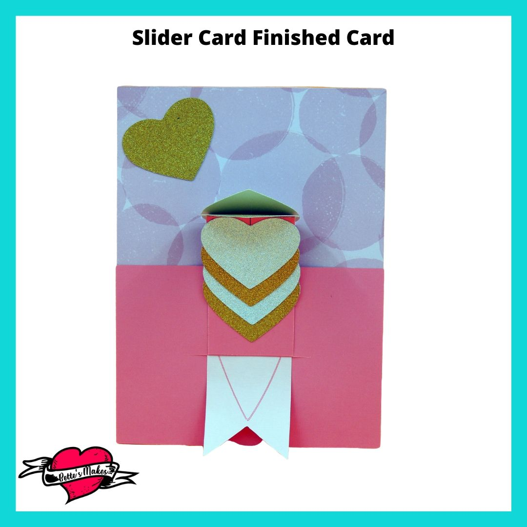 Slider Card Finished Product