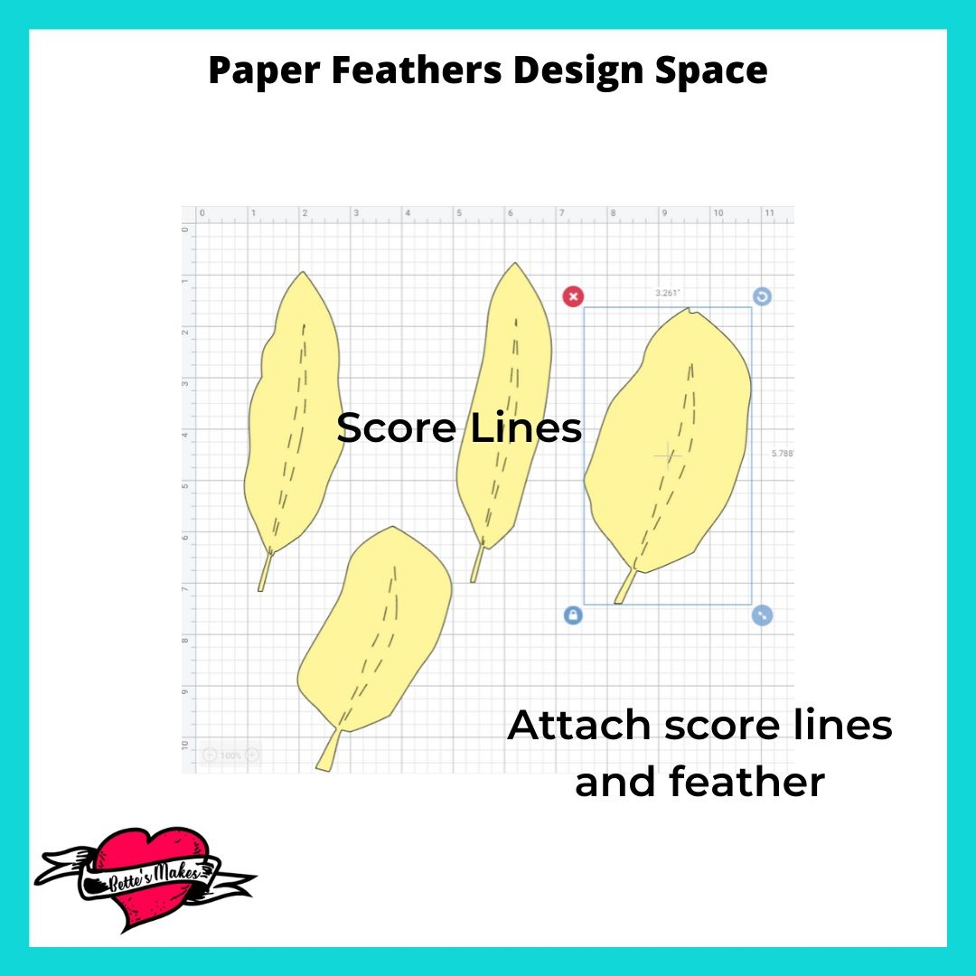 Design Space Score lines and attaching