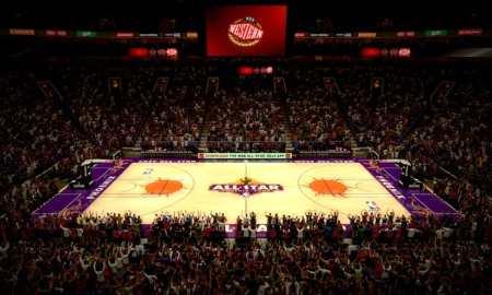 Home court advantage in NBA