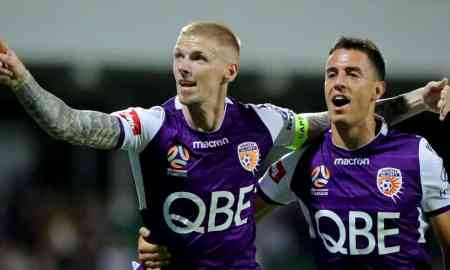 Brisbane Roar v Perth Glory - A League