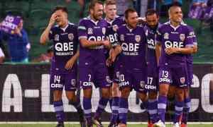 Perth Glory v Central Coast Mariners - A League