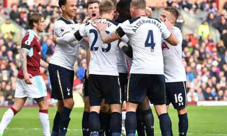 Tottenham v Burnley - Premier League