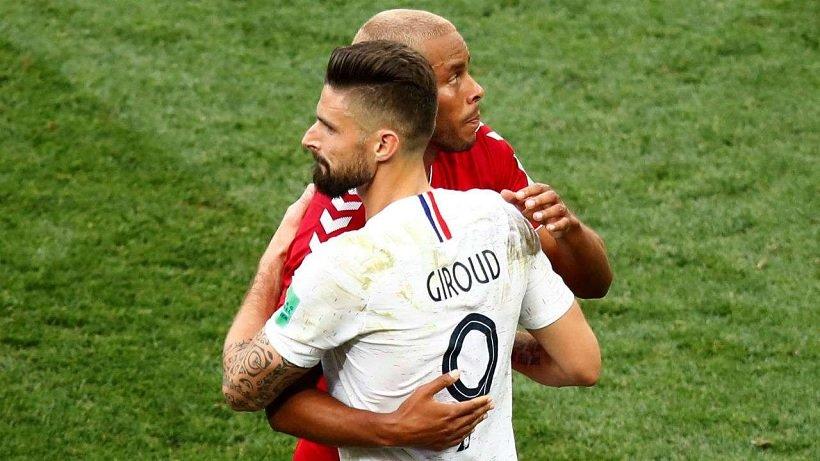 France Denmark 0-0 Draw World Cup 2018