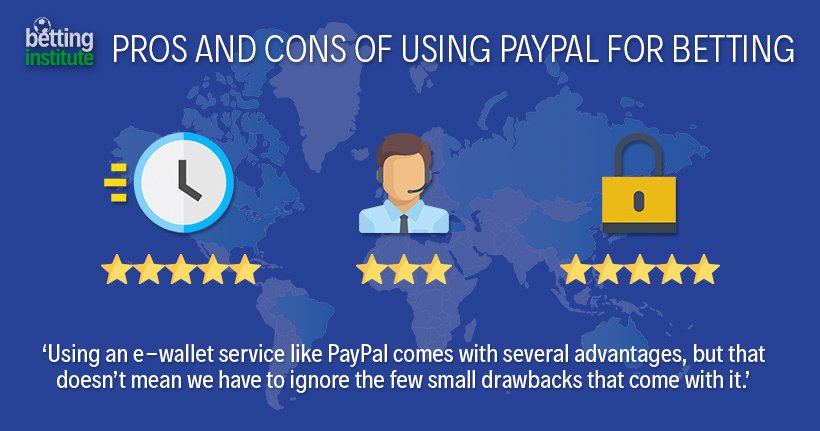 Pros and Cons Of Using Paypal For Betting