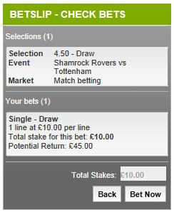 Betting Promotion Codes help - bet slip verified bets