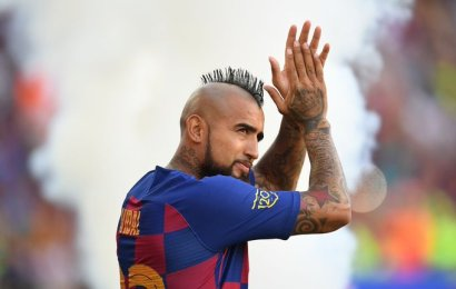 Inter set to restart Vidal talks