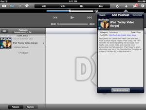 Downcast for iPad