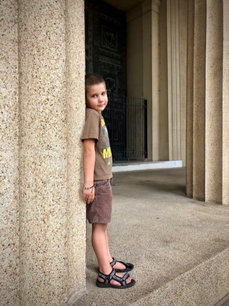 Anthony at the Pantheon