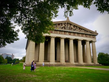 The Pantheon replica in Nashville