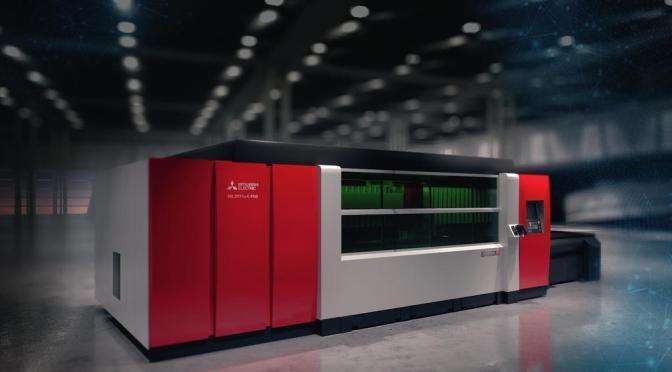 Impianto laser Mitsubishi eX-fiber