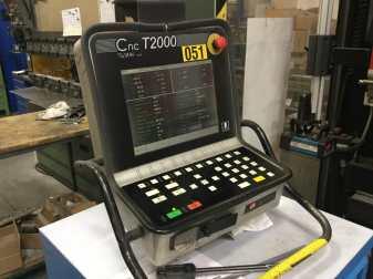 PRESSA PIEGATRICE SCHIAVI MODELLO HFB. 80/25 COMPLETA DI CNC SCHIAVI T2000
