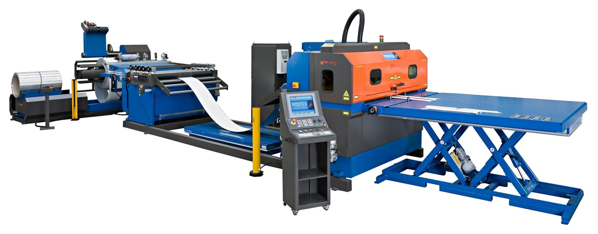 ISEO A2 taglio laser da coil Produtech
