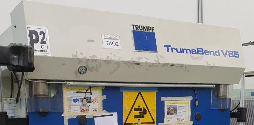 pressa piegatrice usata Trumpf in vendita da Betto Macchine srl, Rubano PD