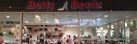 Nos Magasins BETTY BOOTS